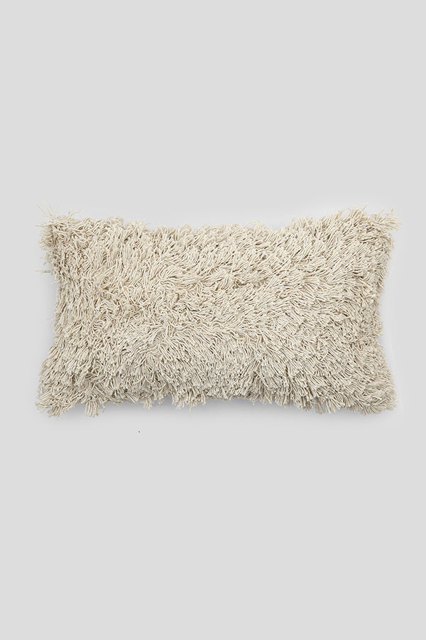 Shaggy cushion cover