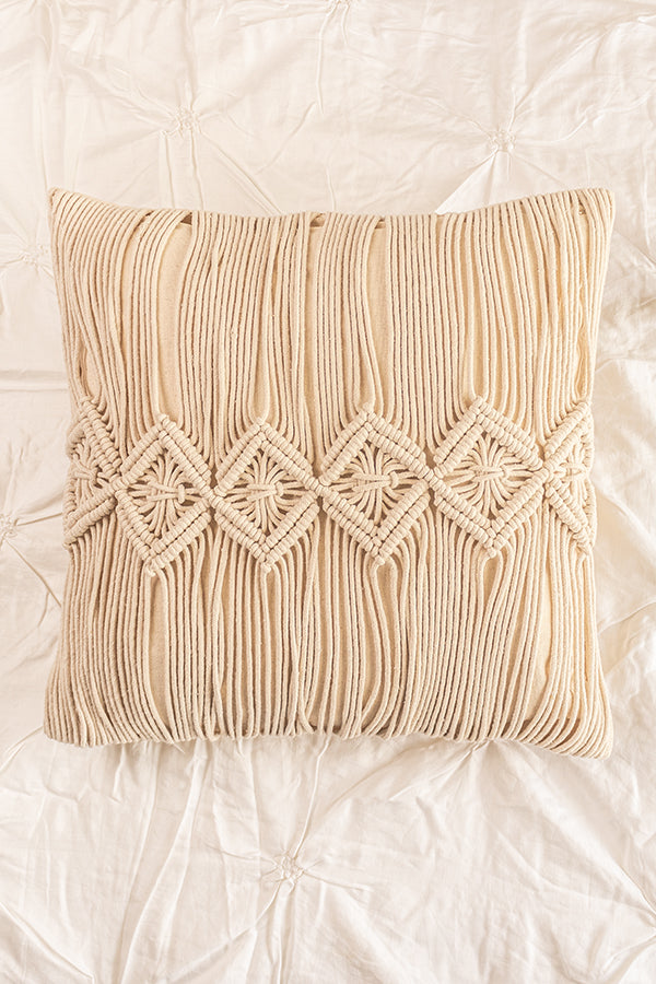 Kailano Macrame Cushion Cover