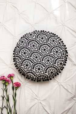 Fiona Black Cushion