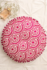 Rosa Fuschia Cushion
