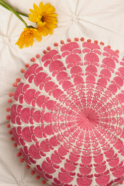 Carnation Pink Cushion