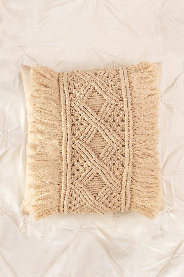 Moana Macrame Cushion Cover