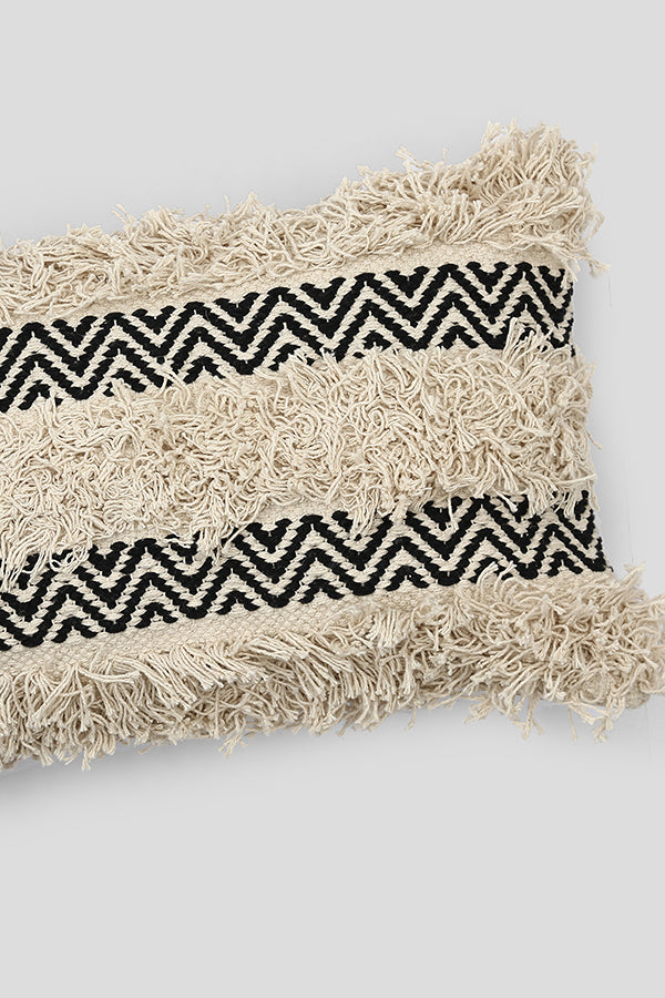 Moroccan woven cushion cover
