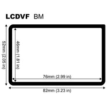 LCDVF spare mounting frames