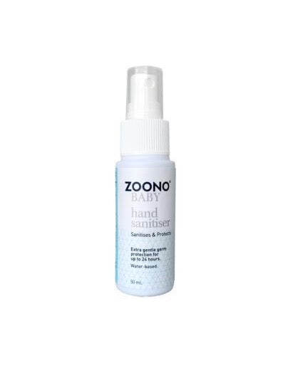 OneSpray 24 Hour Antibacterial Baby Hand Sanitiser powered by Zoono technology | 50ml