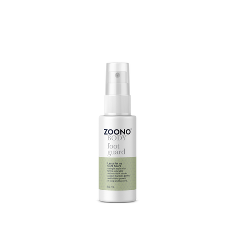 OneSpray 24 Hour Antibacterial Foot Guard Spray powered by Zoono technology | All Sizes