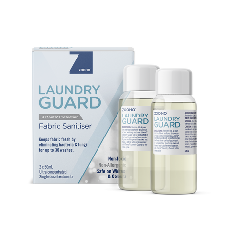 OneSpray Laundry Guard Fabric Sanitiser powered by Zoono technology | 2 x 50ml