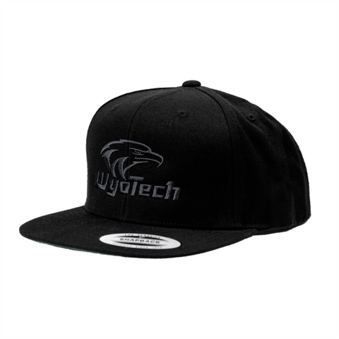 Blackout Snapback Cap