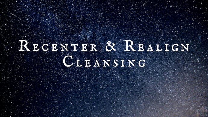 Recenter & Realign Cleansing