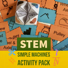 Load image into Gallery viewer, STEM Unplugged! Simple Machines Activity Pack