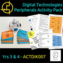 Load image into Gallery viewer, STEM Unplugged! Peripheral Devices Activity Pack