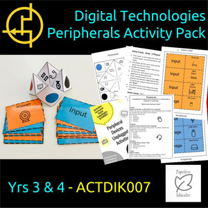 STEM Unplugged! Peripheral Devices Activity Pack