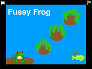 Fussy Frog, A Scratch Jr Coding Project For Complete Beginners