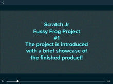 Load image into Gallery viewer, Fussy Frog, A Scratch Jr Coding Project For Complete Beginners