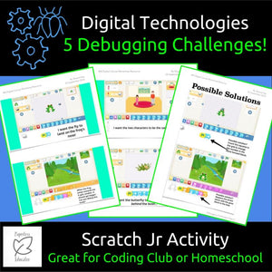 STEM & Coding, 5 Fun Debugging Challenges For Scratch Jr