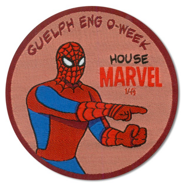 Marvel House Patch O-week 2020