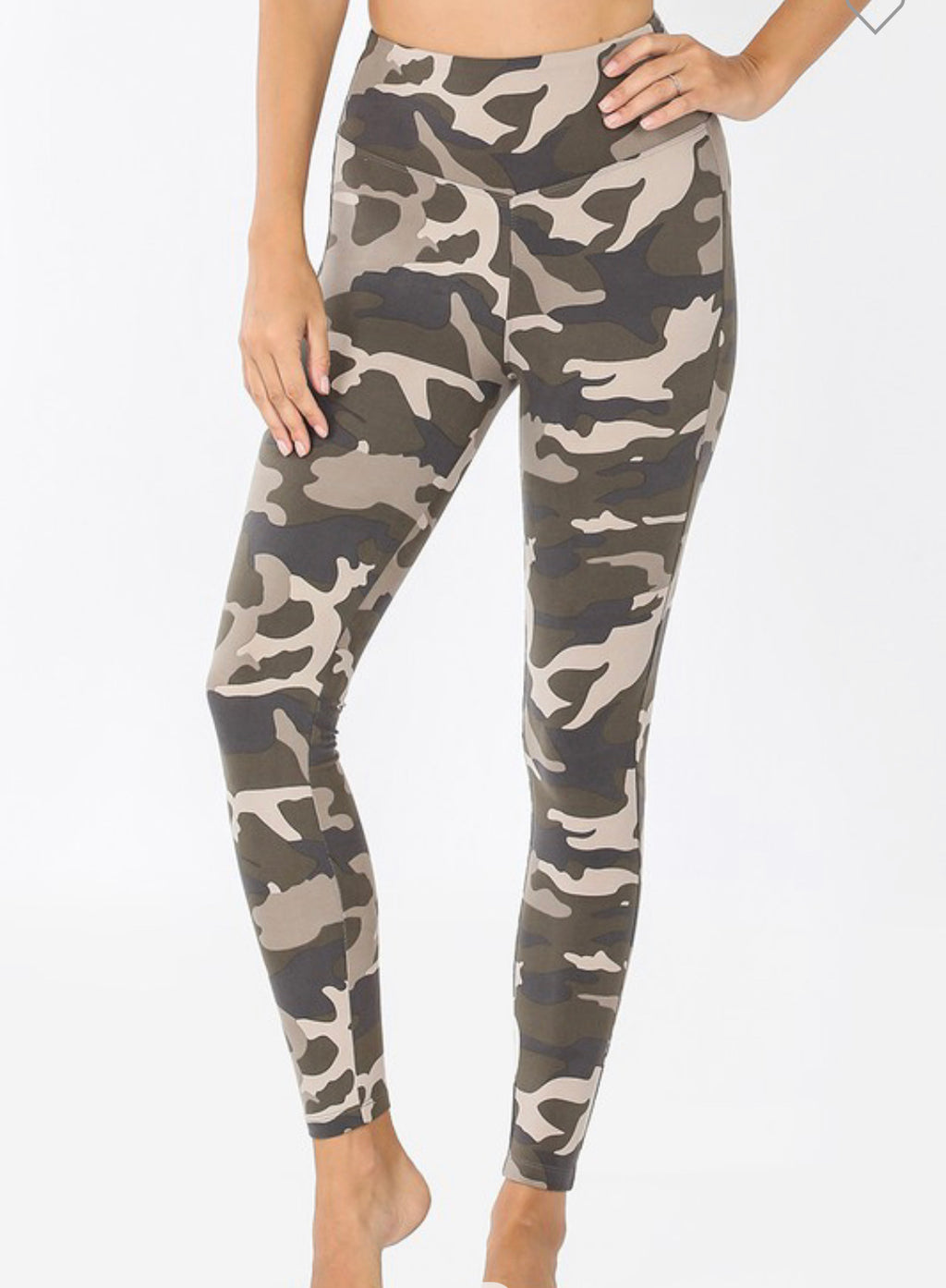 Dusty Camouflage Leggings