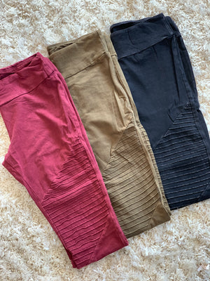 Moto leggings - Tallulah Rose Boutique