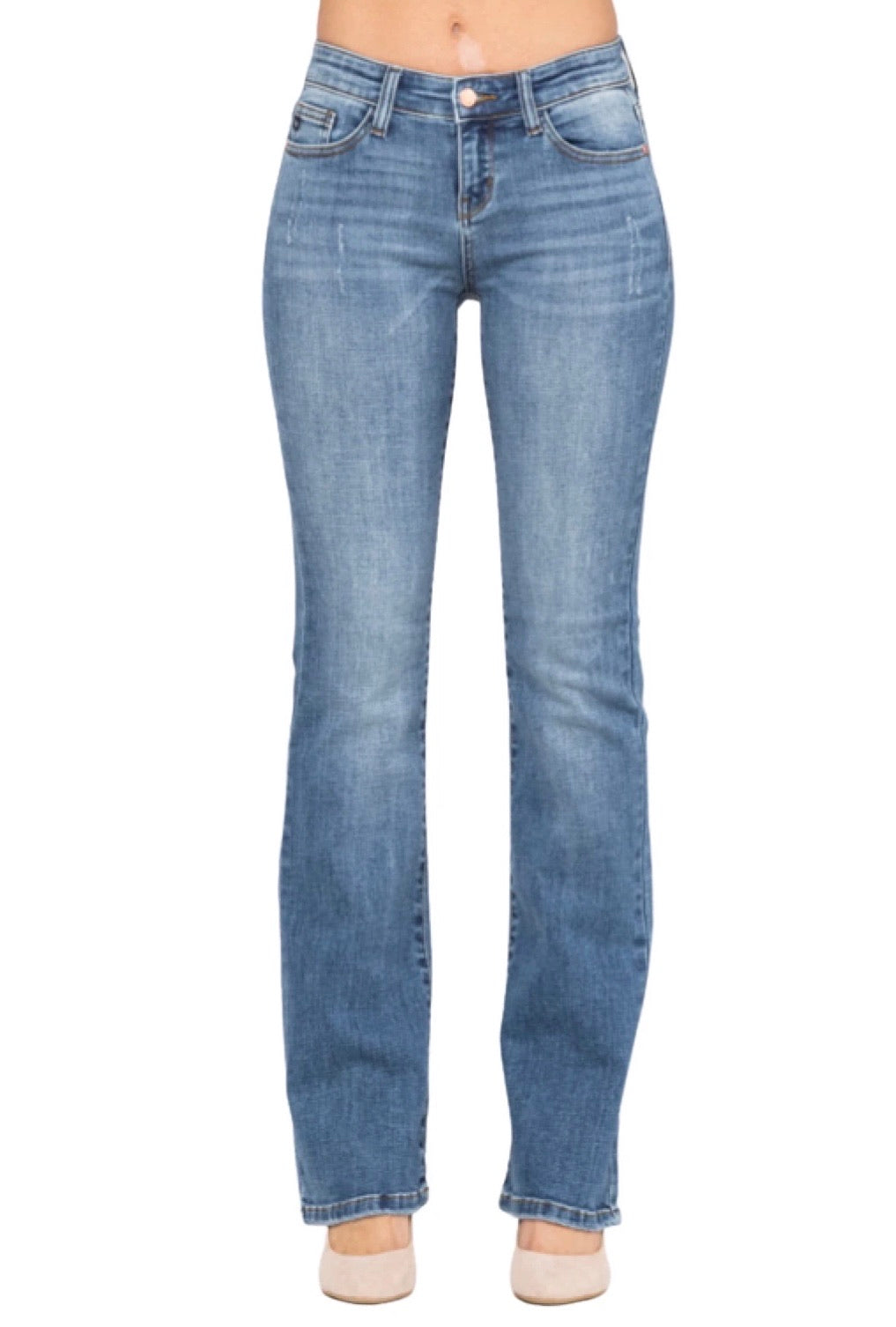 Judy Blue Medium Boot Cut Jeans