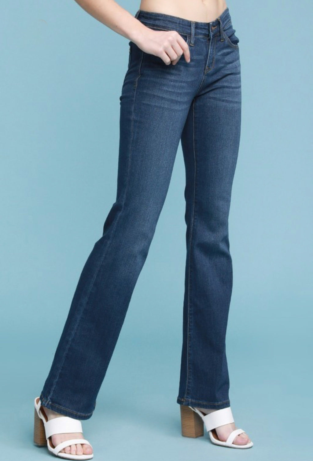 Judy Blue Mid-Rise Bootcut Jean