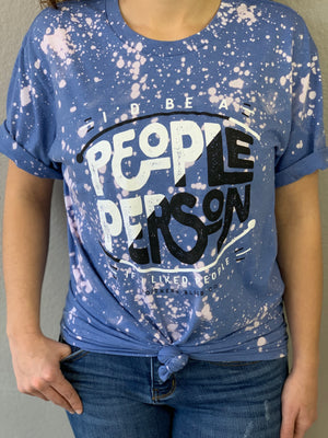 People Person Bleached Tee