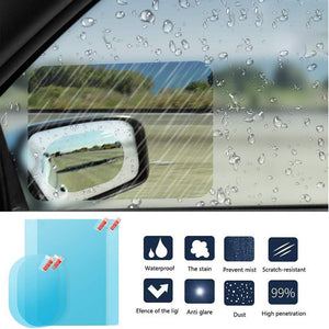 Car Rearview Mirror Rainproof Film