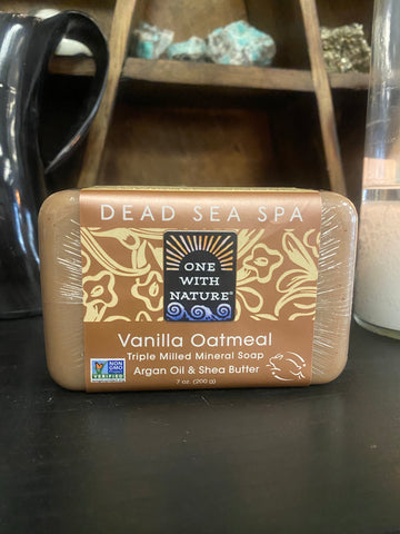 Dead Sea Spa Vanilla Oatmeal Soap