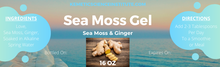 Load image into Gallery viewer, Sea Moss Gel 16 oz