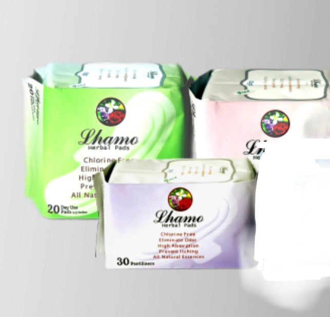 Lhamo Herbal Pads: All-natural Sanitary Napkins
