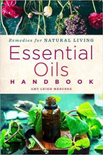Load image into Gallery viewer, Recipes for Natural Living Essential Oils Handbook