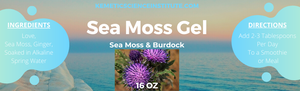 Sea Moss Gel 16 oz
