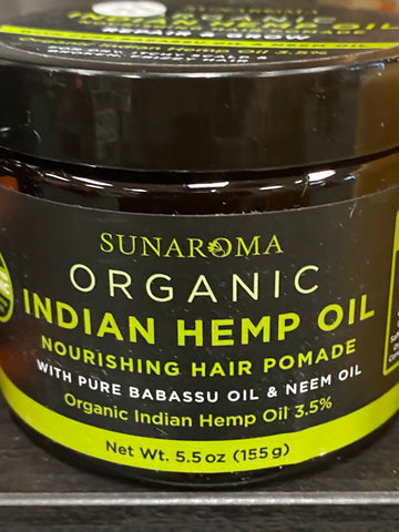 Indian Hemp Oil hair pomade