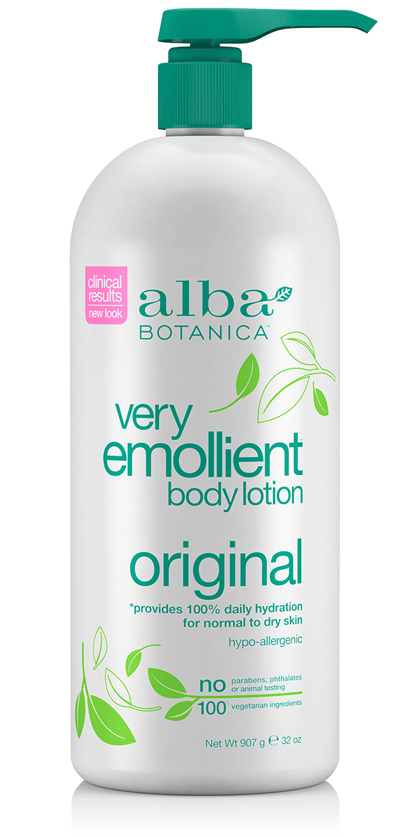 Alba Botanica Very Emollient Body Lotion Original, Large