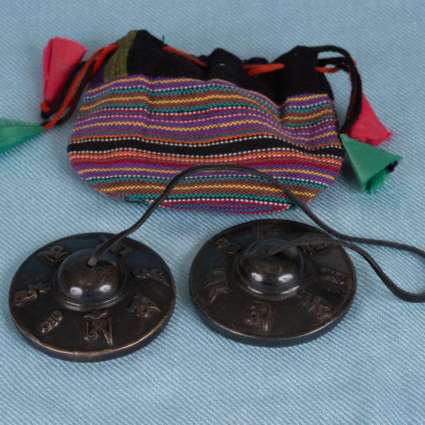Tibetan Tingshas, Antique
