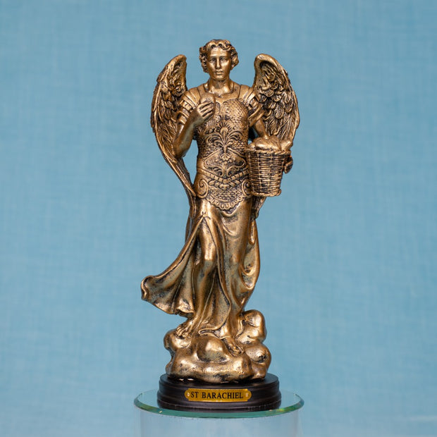 Archangel Chamuel (Barachiel) Bronze 5 Inches