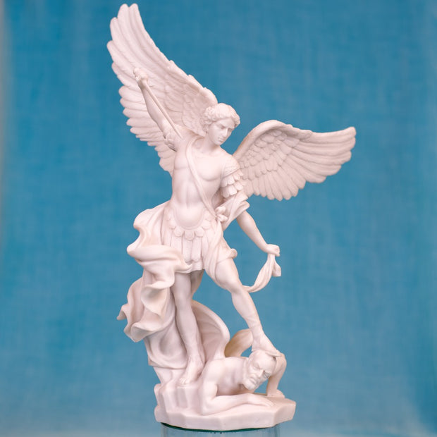 Saint Michael Large Bonded Marble