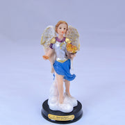 Archangel Chamuel 5 Inch Hand Painted Resin Statue