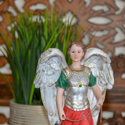 Archangel Jophiel, 8-Inch Hand Painted Resin Statue