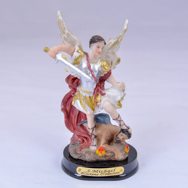 Feel the Protection with Archangel Michael 5-Inch Colorful Statue