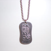 Archangel Michael Dog Tags