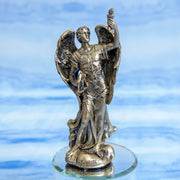 Archangel Uriel 5-Inch Bronze Resin Statue