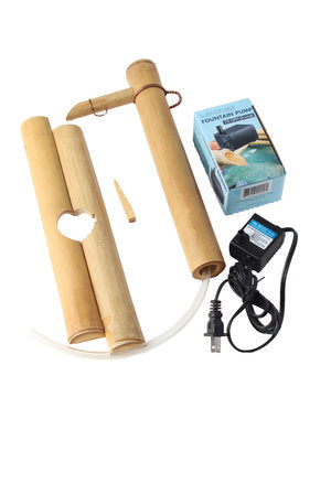 Bamboo Water Fountain 12 inch adjustable
