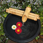 Bamboo Water Fountain: Three Arm 12 inches