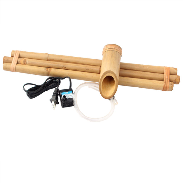 Bamboo Water Fountain: Three Arm 18 inches