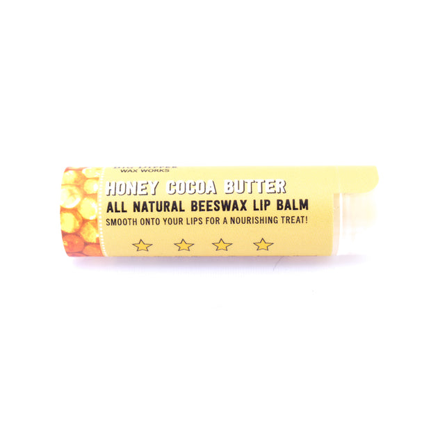 Beeswax Lip Balm, Vanilla-Rose and Honey-Cocoa Butter