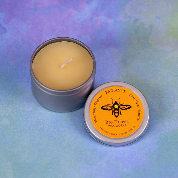 Beeswax Aromatherapy Tins Radiance