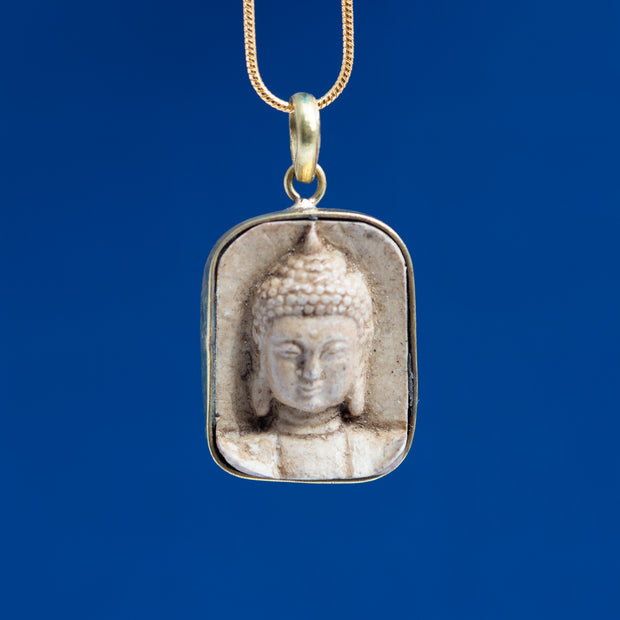 Buddha Pendant with Chain