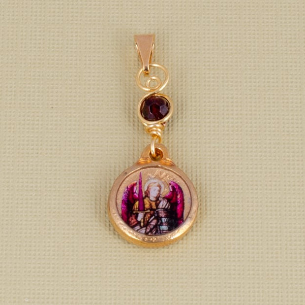 Be Love in Action with this Handmade Archangel Chamuel Divine Love Pendant