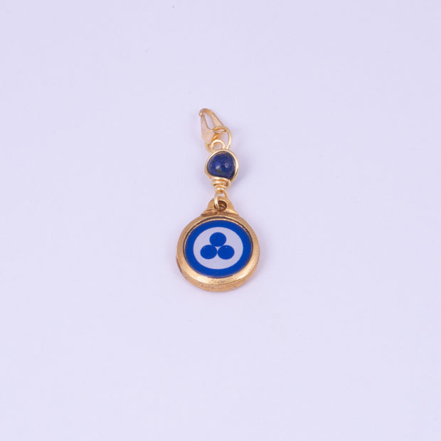 Chela Pendant with Lapis