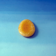 Yellow Calcite Worry Stone